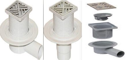 Drain-With-Adjustable